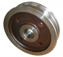 Crane wheel forgings